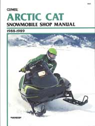 snowmobile repair manual Arctic Cat, Polaris, Ski-doo Yamaha